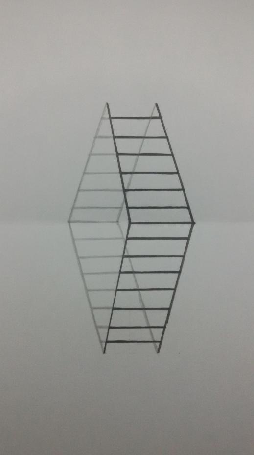 Cara Membuat Gambar Tangga 3d Sederhana Maudi S